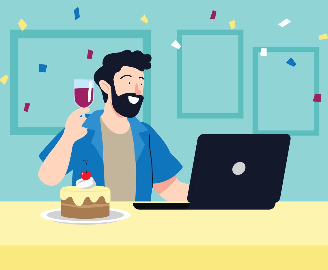 Birthday Online Celebration
