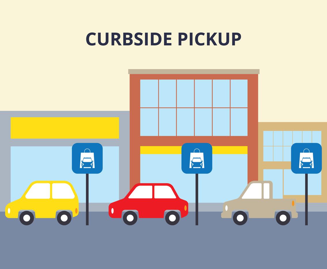 Curbside Pickup Area