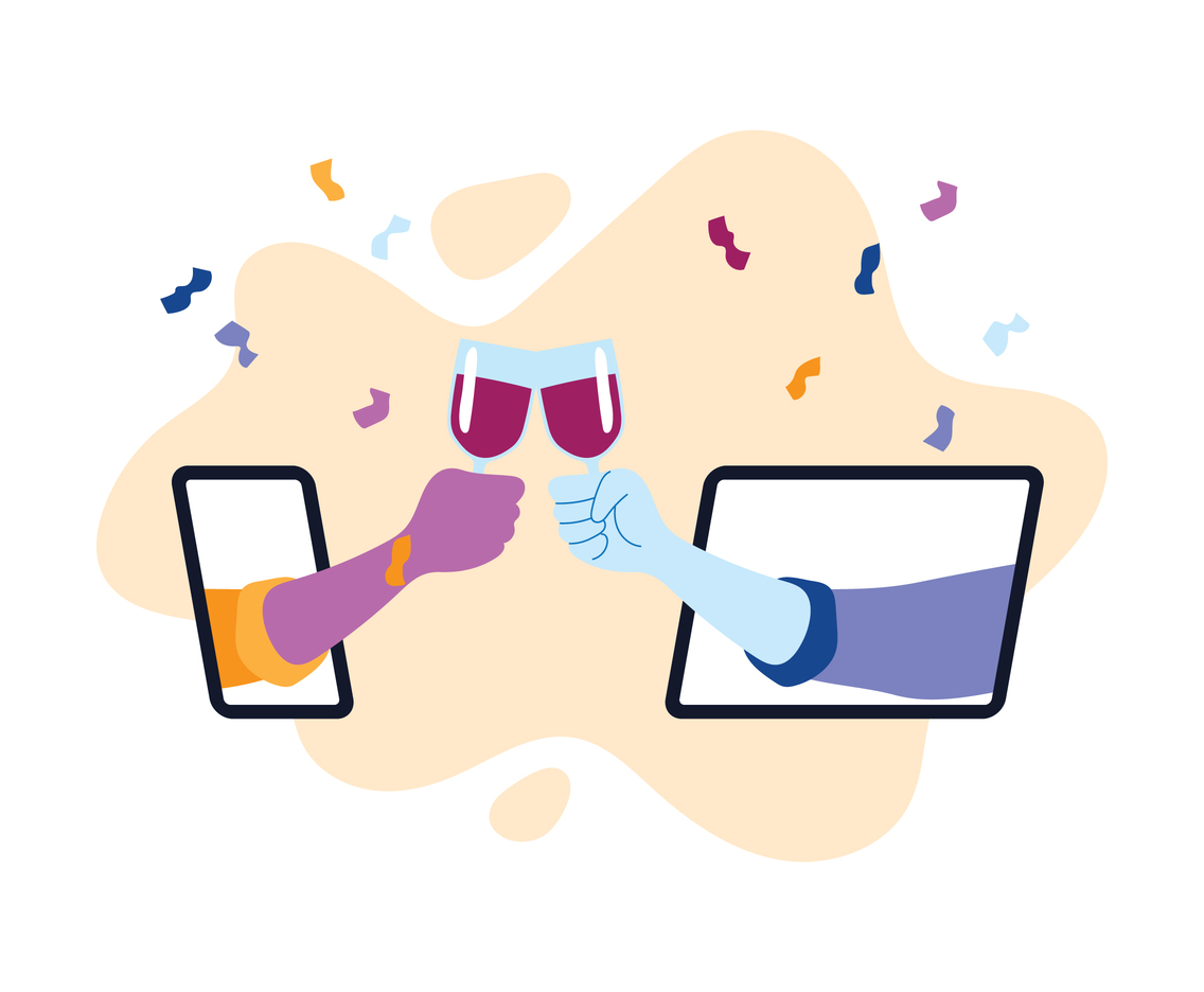 Virtual Party Toast