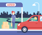 Curbside Pickup Parking