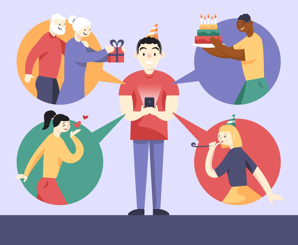 Birthday Virtual Celebration in Quarantine