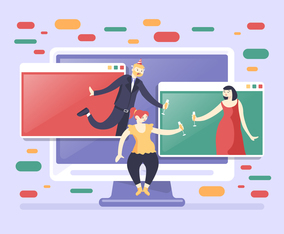 Virtual Celebration in Pandemic