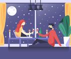 Virtual Celebration of Couple Dinner