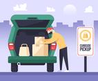 Curbside Pickup in Pandemic