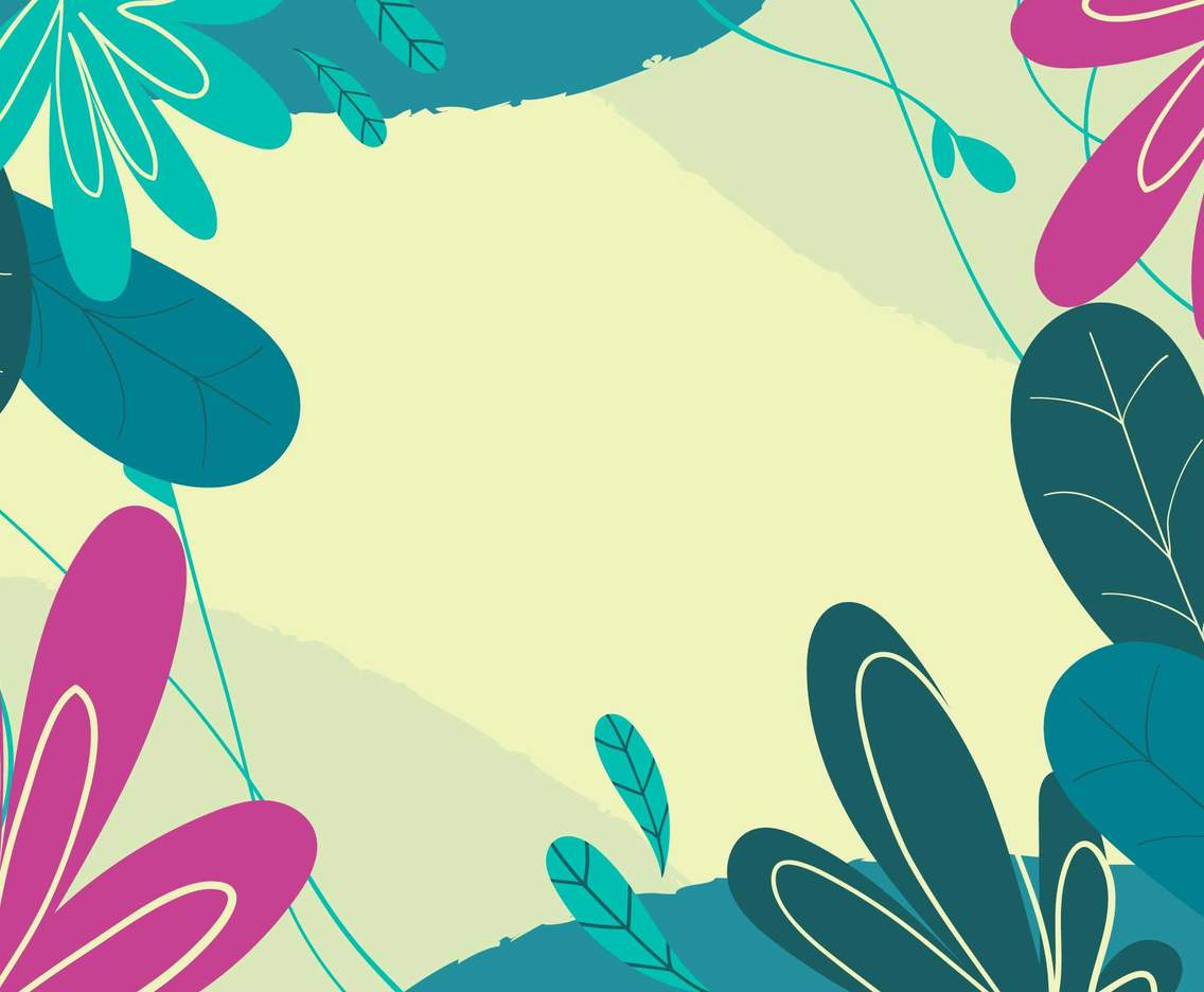 Abstract Decoration Floral Background