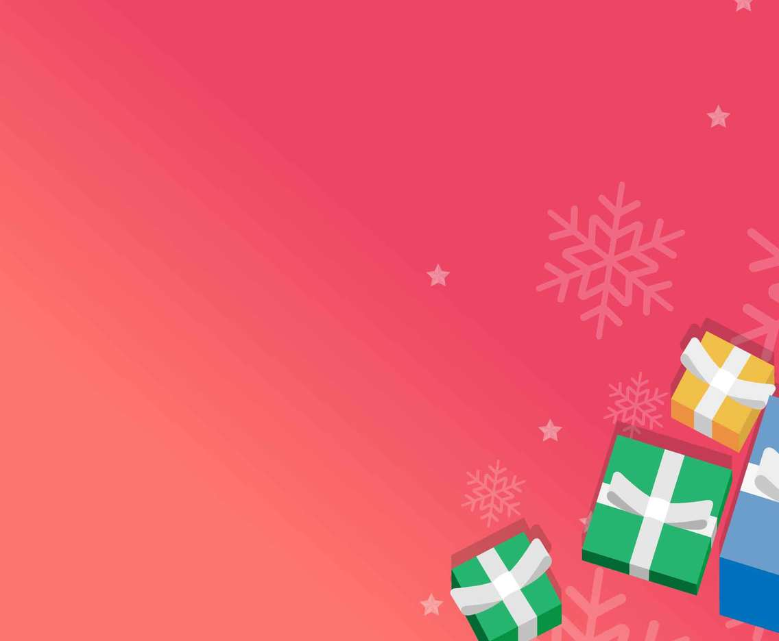 Christmas Background With a Boxing Day Theme