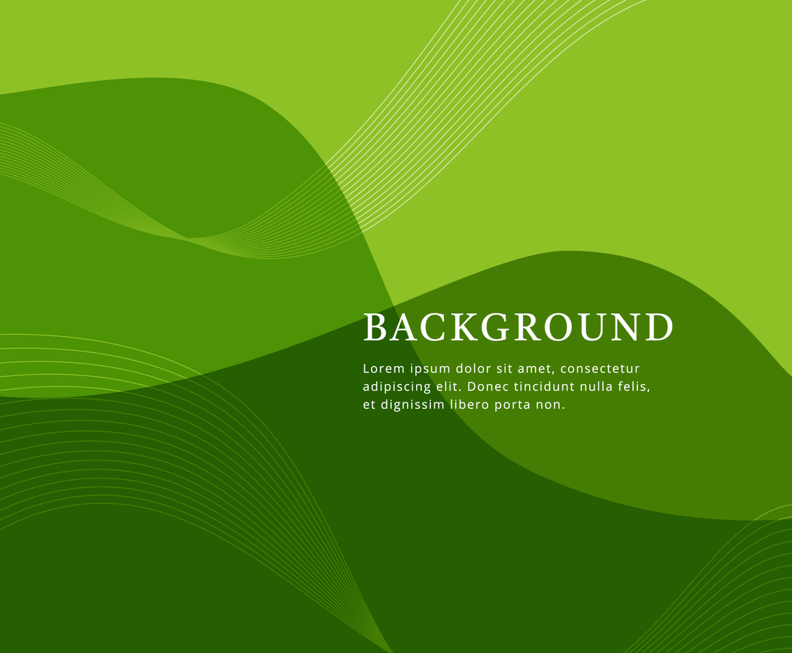 Abstract Dynamic Green Background