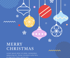 Decorative Christmas Background Concept