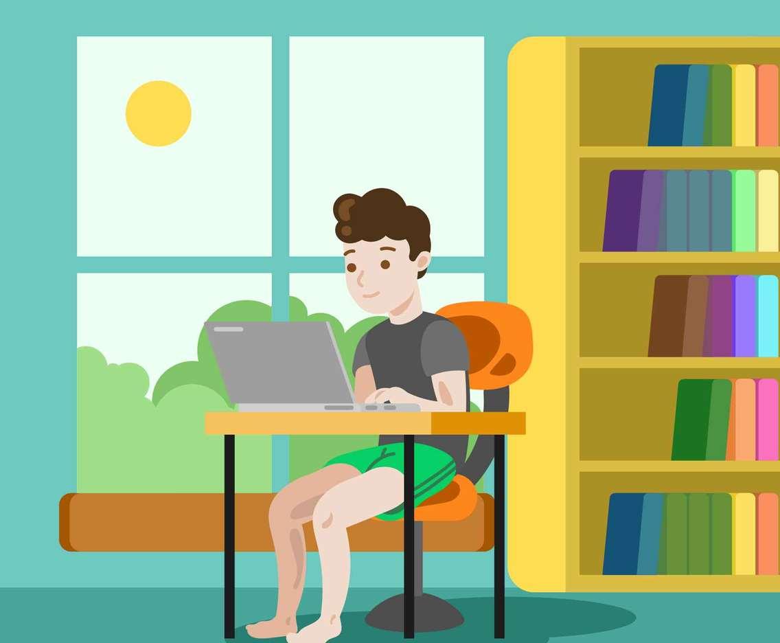 Remote Study Concept