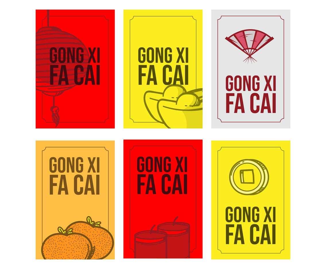 Gong Xi Fa Cai Card Template
