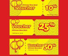 Chinese New Year Voucher Discount