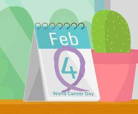 World Cancer Day in February Fourth in Calendar