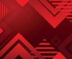 Modern Futuristic Red Background