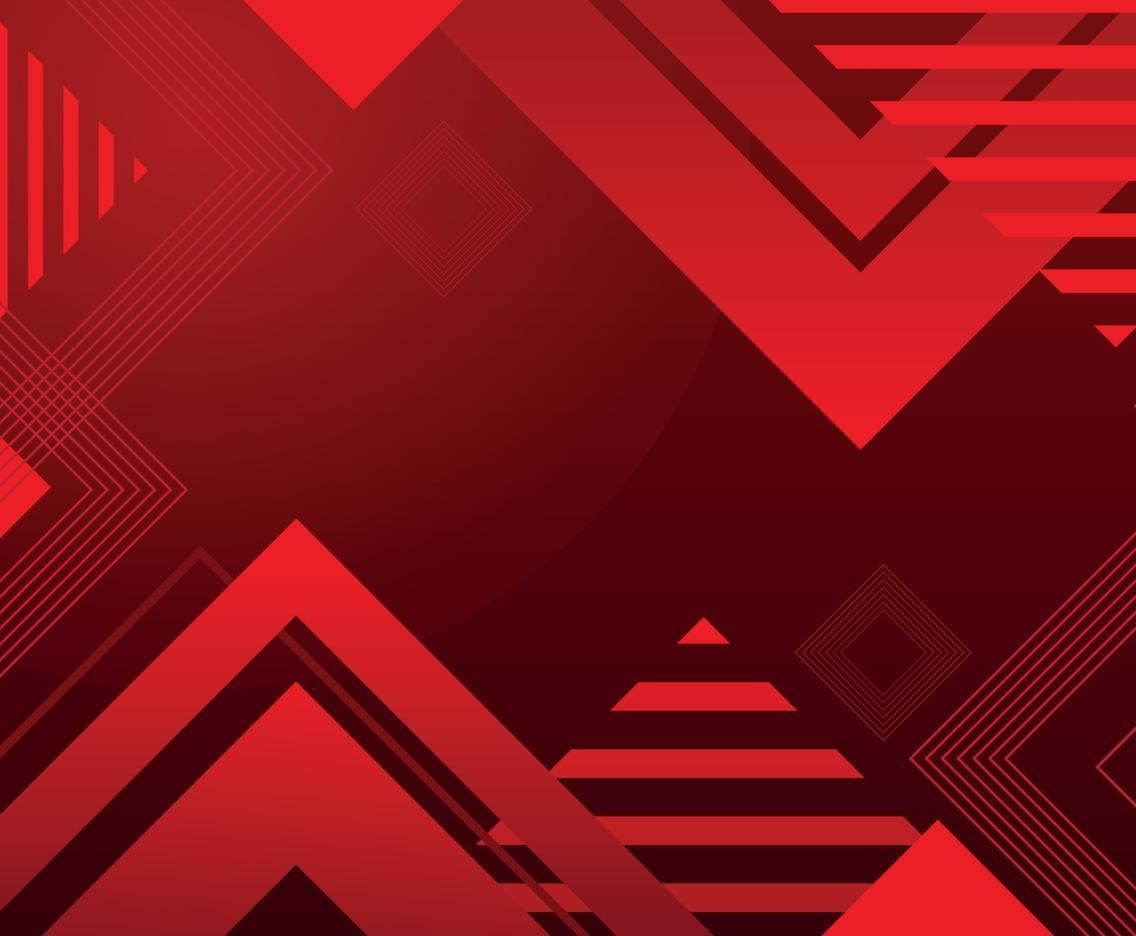 Modern Futuristic Red Background