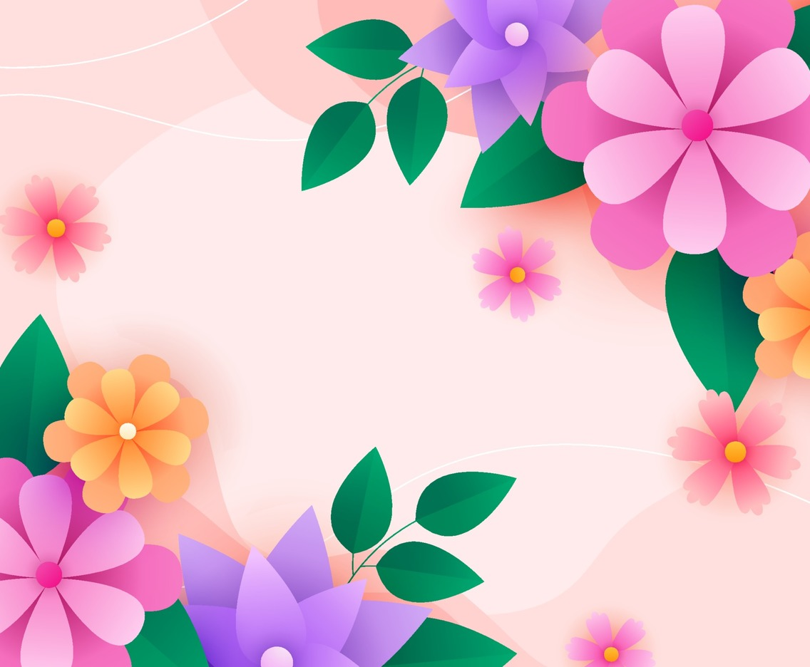 Floral Spring Background