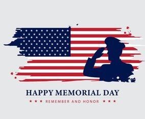 Happy Memorial Day Concept