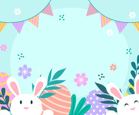 Happy Easter Day Background