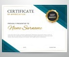 Modern Graduation Certificate Template