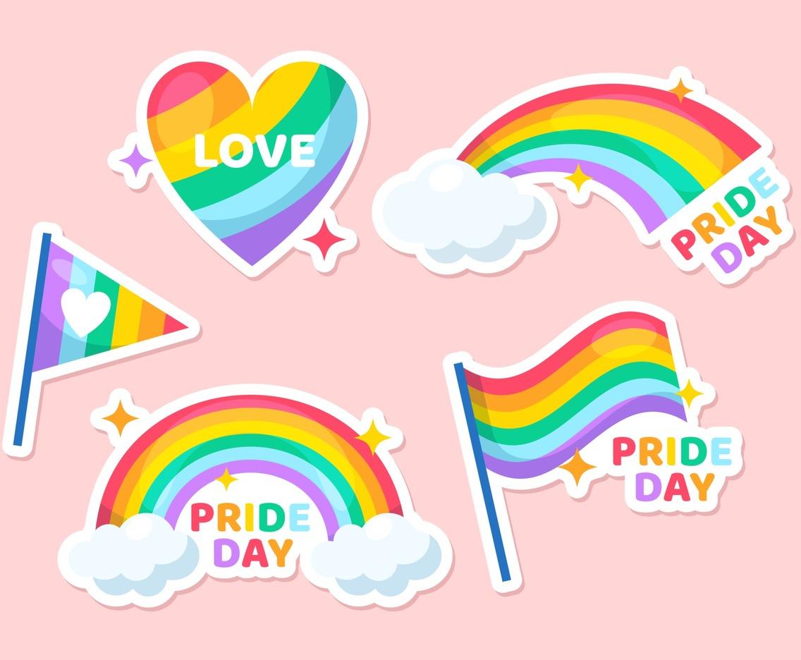 Pride Day Stickers