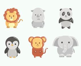 Cute Animal Icon Set