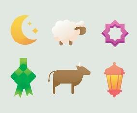 Eid Al Adha Icon Collection
