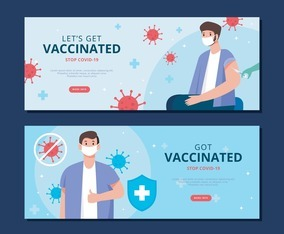 Vaccination Banner Template