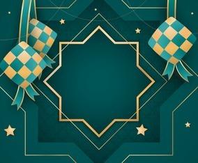 Islamic Ketupat Background
