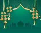 Islamic Ketupat Illustration