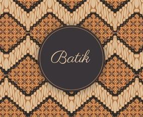 Indonesia Batik Background