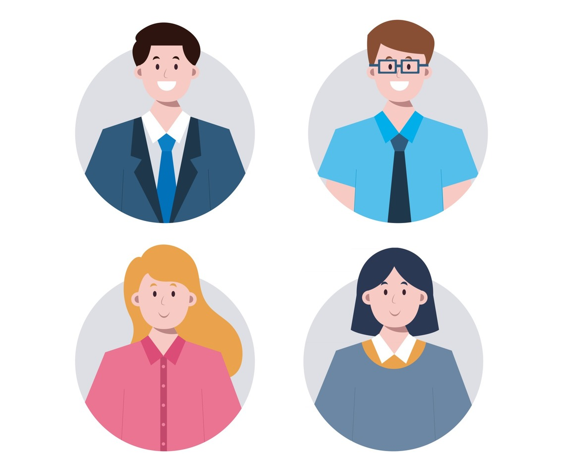 Business People Avatar Collection