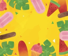 Summer Food Sweets Background