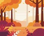 Fall Scenery Background