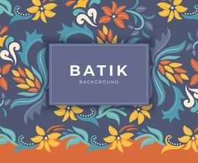 Batik Pattern Background