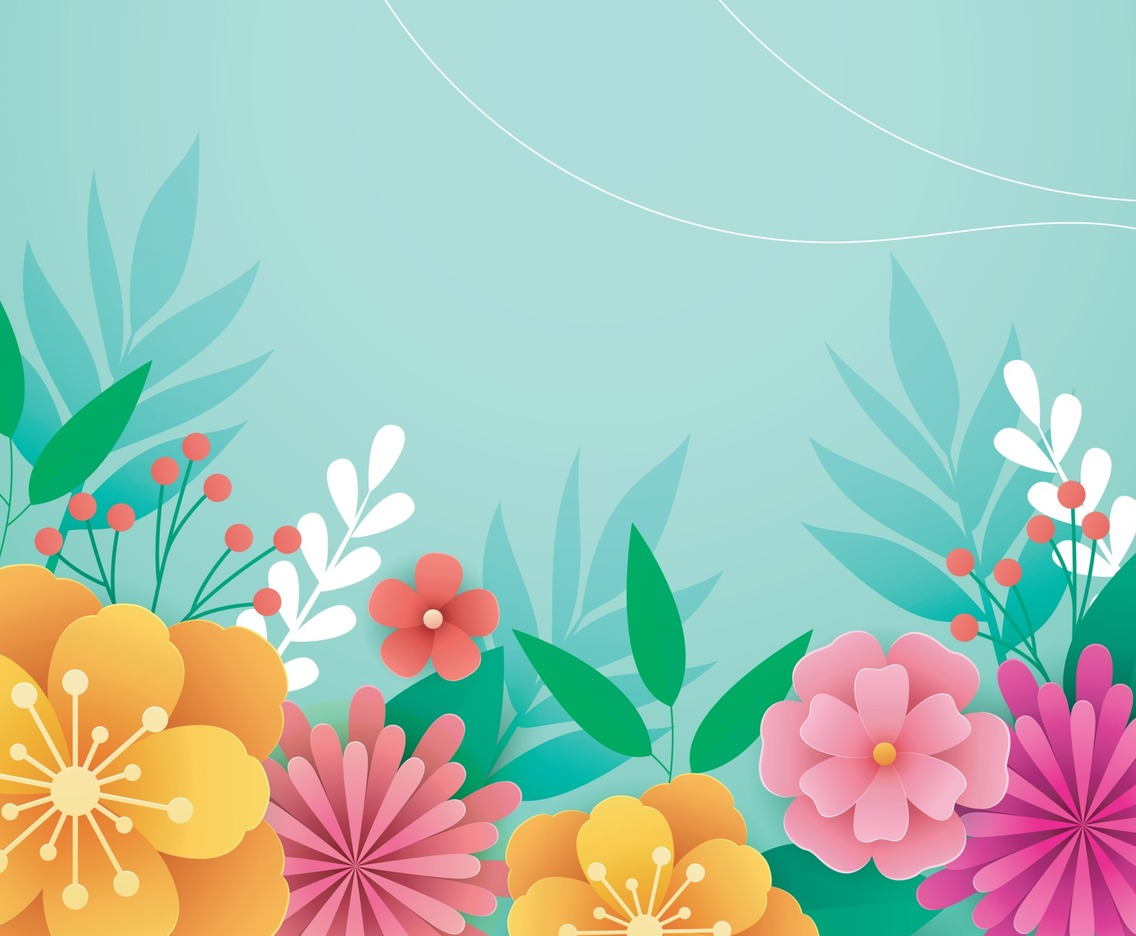 Flower Blooming Background
