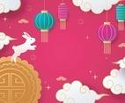 Mid Autumn Festival Celebration Background