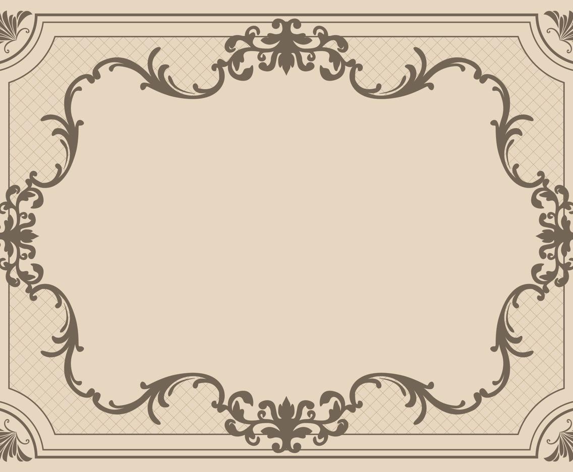 Vintage Background Frame