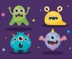 Halloween Monster Icon Collection