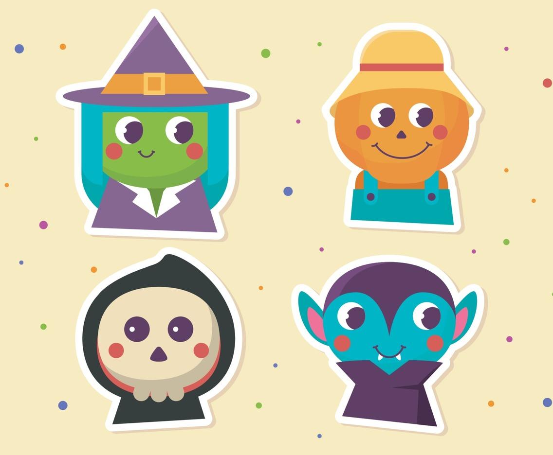 Halloween Costume Character Icon