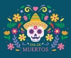 Day of the Dead Celebration Background